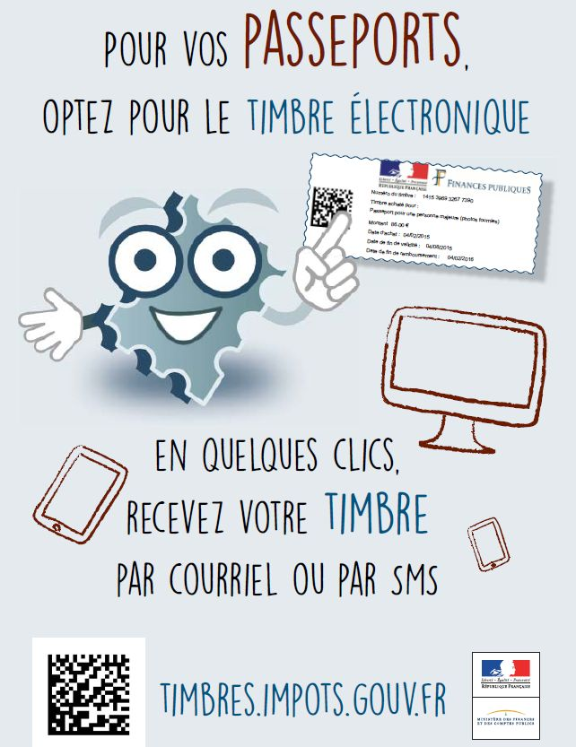 Timbres.impots.gouv.fr : le site de la DGFiP qui délivre les timbres passeport en ligne