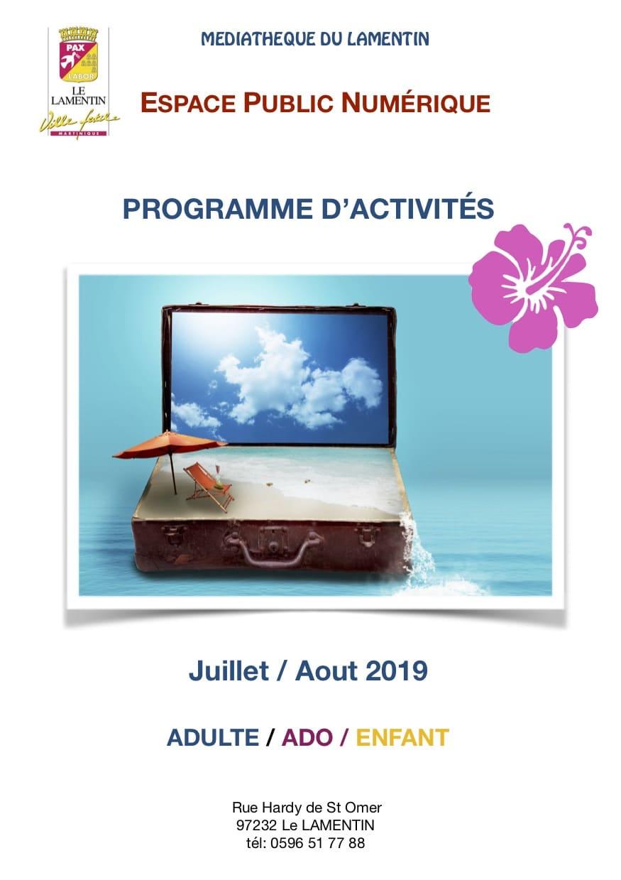 Programme d'Activés Espace Public Numérique