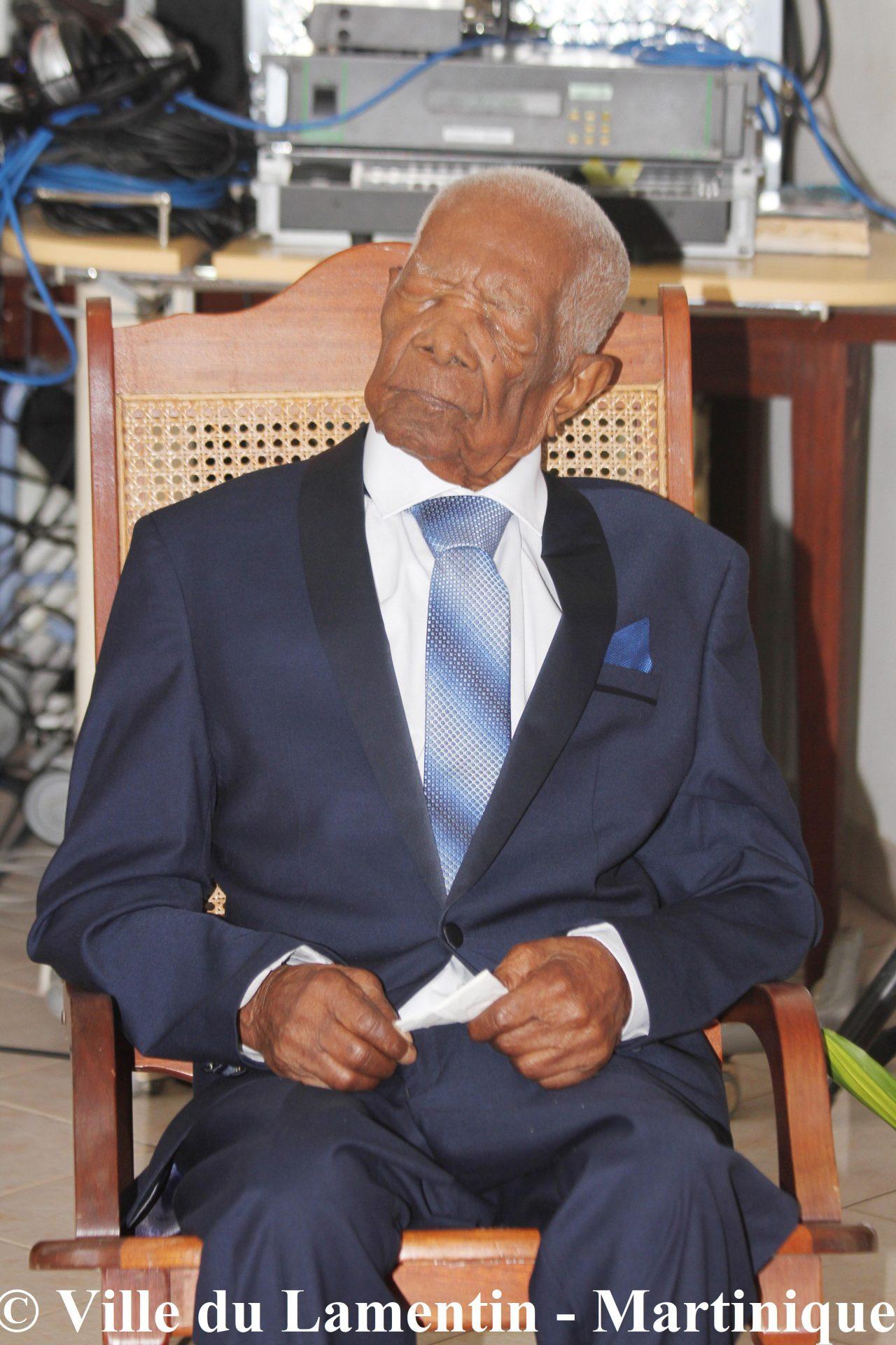 110ème anniversaire de Hyppolite Cadou, doyen de la Martinique