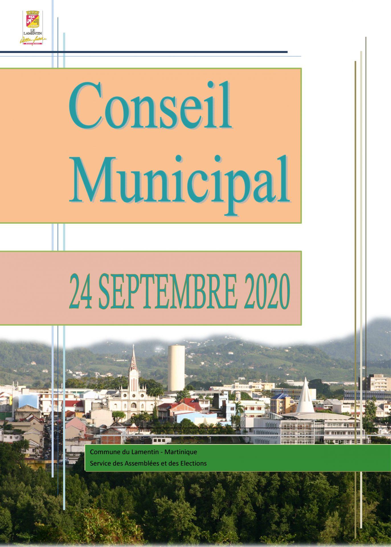 Le Conseil Municipal du 24 septembre est en ligne