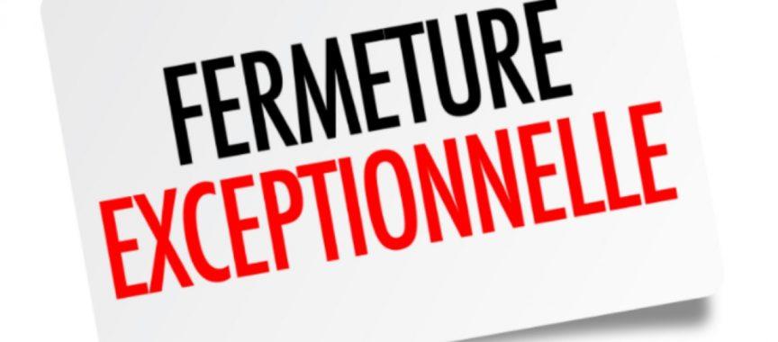 Fermeture exceptionnelle du CCAS jusqu'au 2 octobre