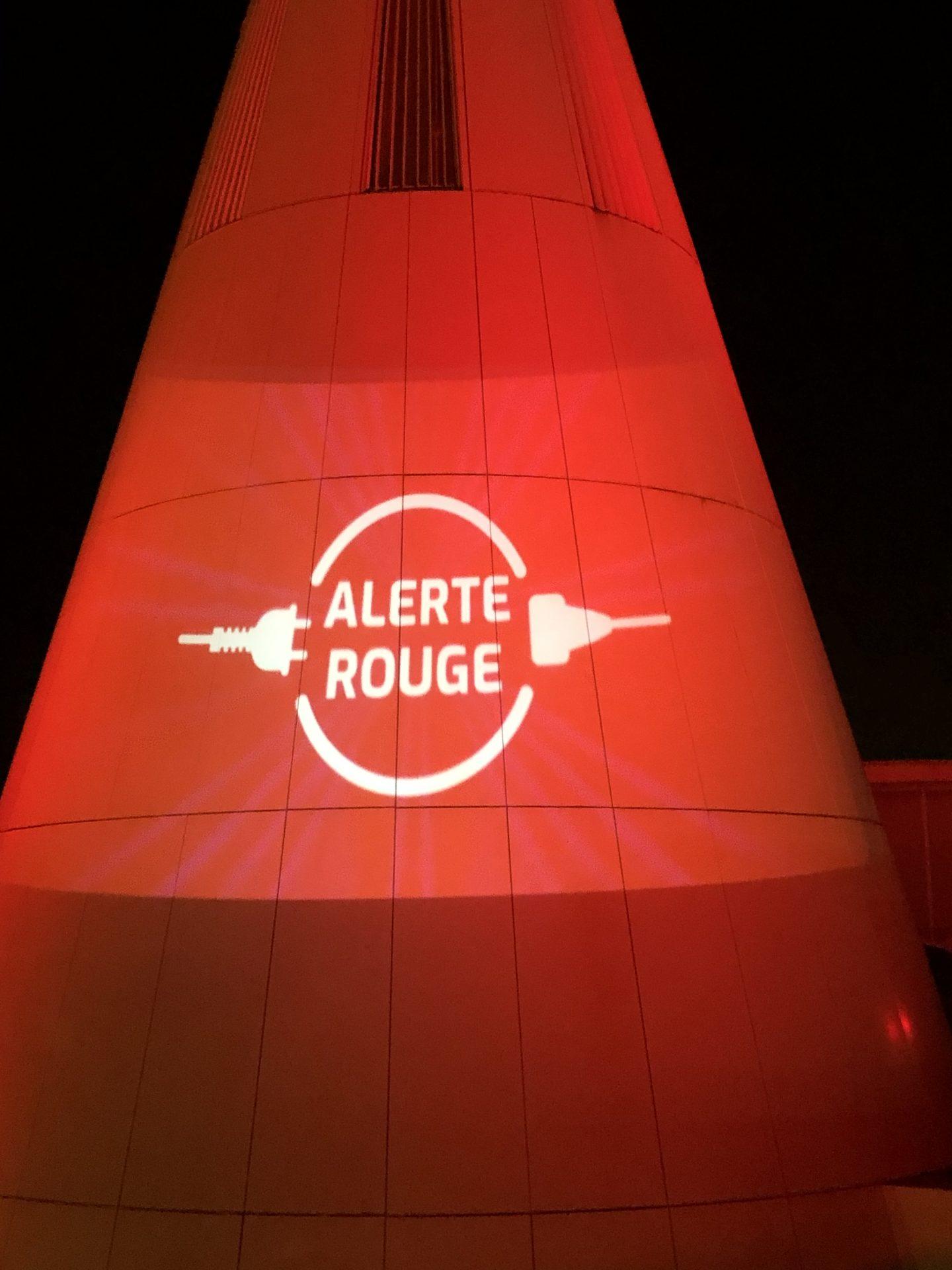 «Alerte rouge» sur l'hôtel de ville…