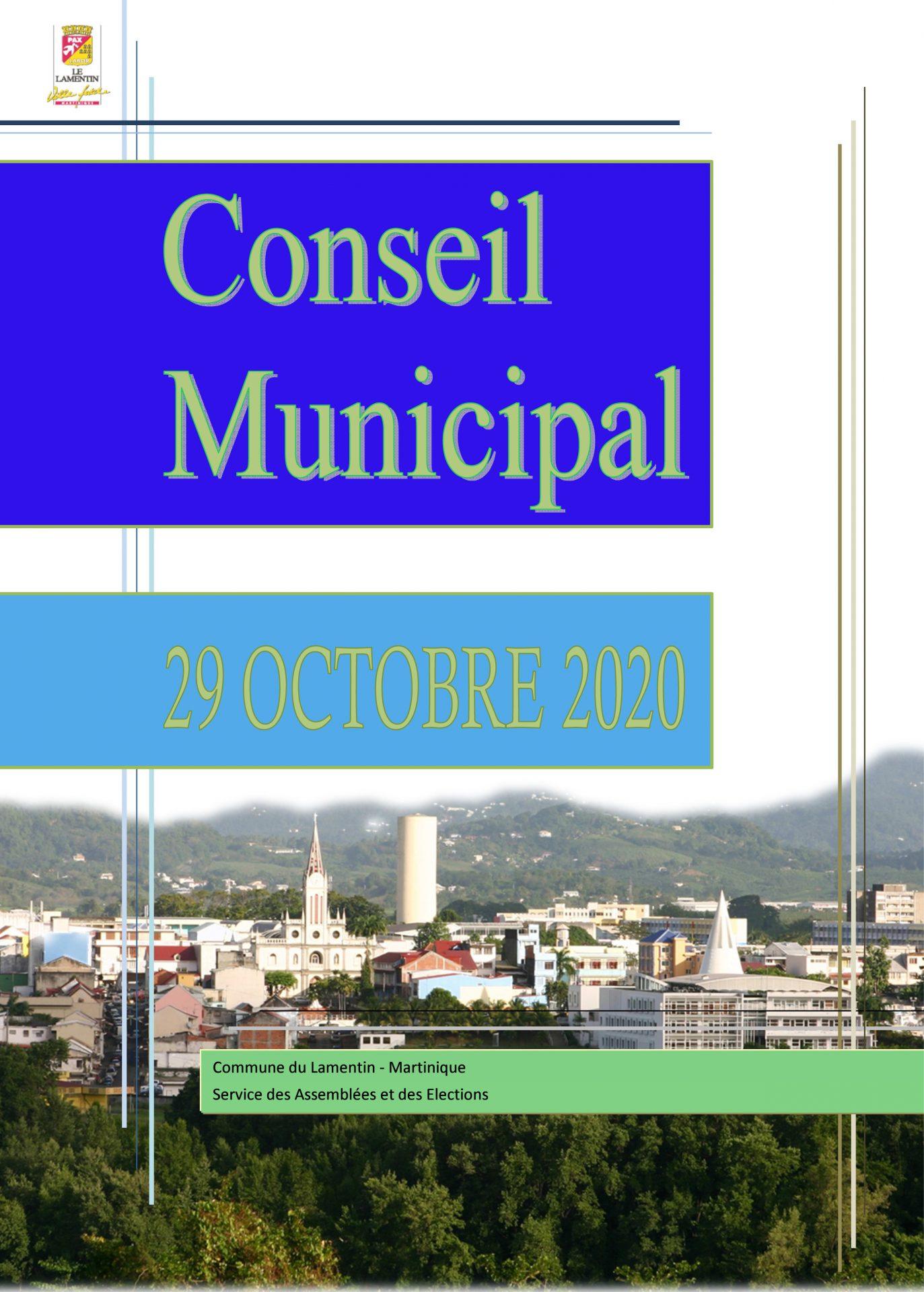 Le conseil municipal du 29 octobre est en ligne