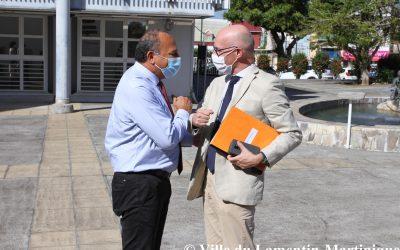 Visite du préfet Stanislas Cazelles
