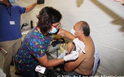 COVID19 : un centre de vaccination au palais des sports