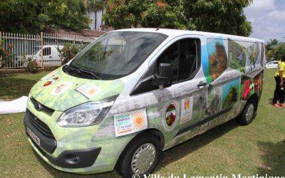 Une caravane pour présenter la biodiversité