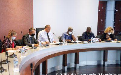 Réunion de travail avec le secrétaire général de la préfecture